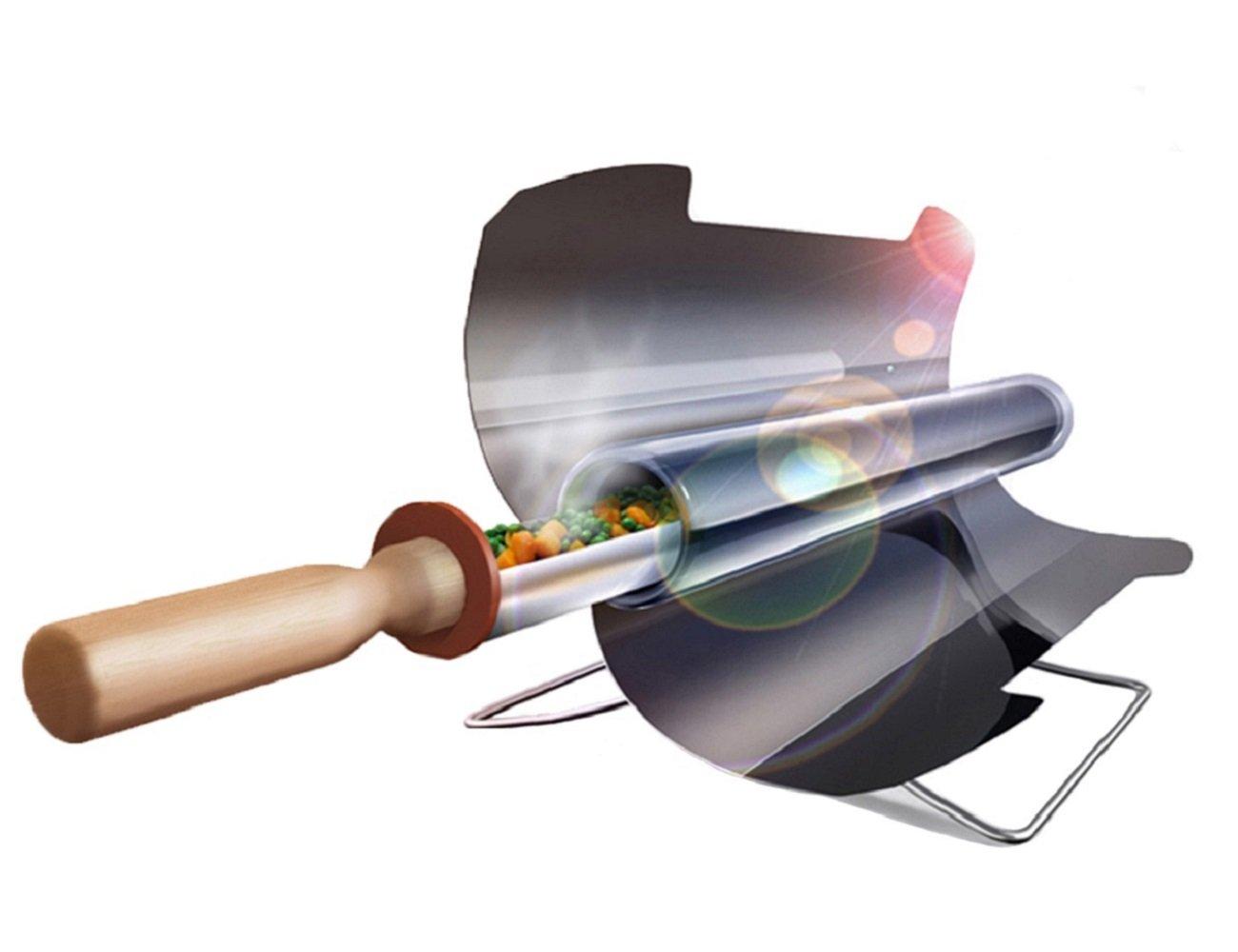 Solargrill tragbarer Grill , rauchfrei faltbar für Reise Camping im Freien (3-5 Personen)