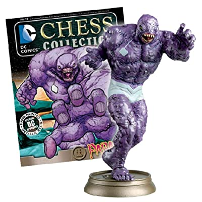 Eaglemoss Publications DC Superhero Chess Figurine Collection Magazine #72 Parasite - Black Pawn: Toys & Games