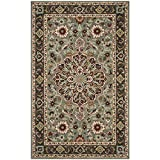 Safavieh Heritage Collection HG736A Grey and Charcoal Area Rug (6' x 9')
