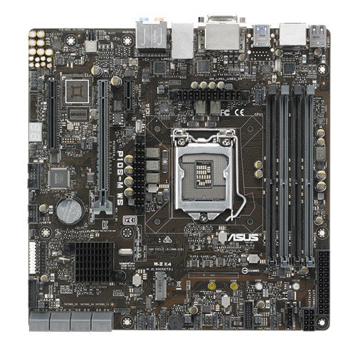 ASUS Rack Optimized Compact Workstation Board for Media Server ATX DDR4 LGA 1151 Motherboards P10S-M WS