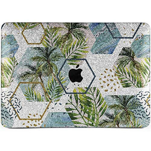 Lex Altern Glitter MacBook Air Case 13 inch Pro 15 12 11 2017 Abstract 2018 Palm Rhinestone Mac Retina Bling Sparkly Cover Hard Glossy Silver Gold Shell Laptop Apple 2016 2015 Tropical Touch Bar Gift]()