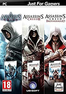 Triple pack: Assassin's Creed + Assassin's Creed II + Assassin's Creed: Brotherhood [Importación Francesa]