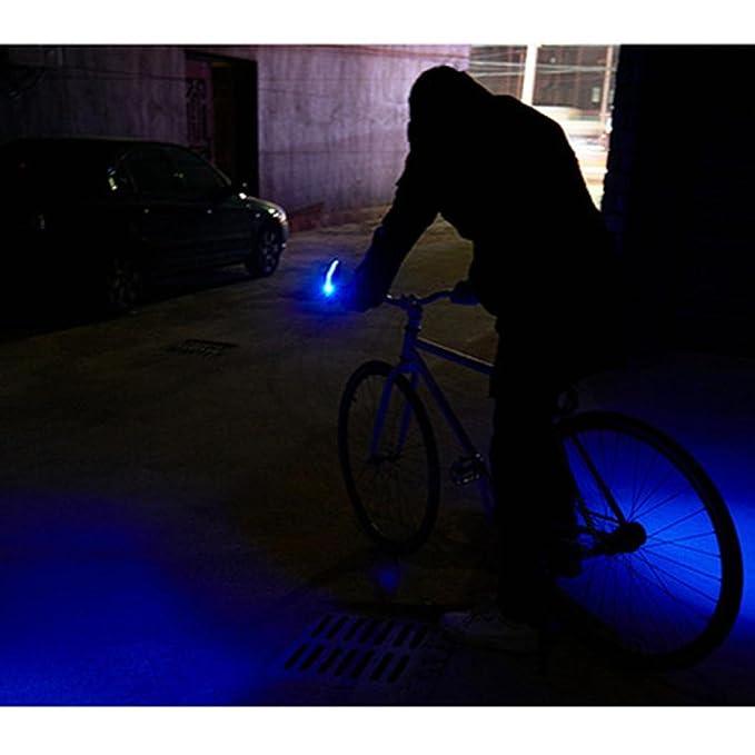 Bicycle Handlebar Light MTB Bike Front Turn Signal Indicator Riding Safety Lamp