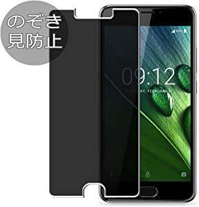 Synvy Privacy Screen Protector Film for Acer Liquid Z6 Plus Anti Spy Protective Protectors [Not Tempered Glass]
