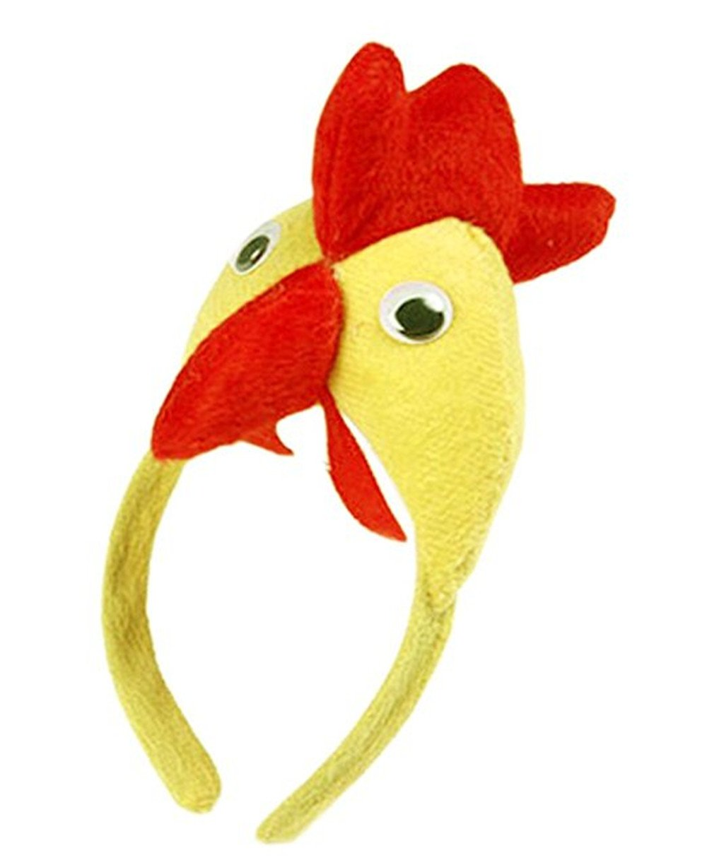 Kangkang@ Set of 2 [Funny Chicken] Kids Party Favors Party Hats for Toddlers/Adults