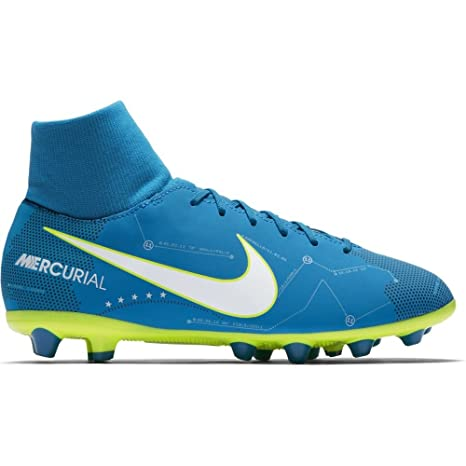 pick up 1deea 6d6d0 Nike Jr Mercurial Vctry6 DF NJR Agp Zapatillas, Niños, Azul, 33