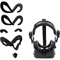 AMVR Facial Interface Bracket & PU Leather Foam Face Cover Pad Replacement & Anti-Leakage Nose Pad & Protective Lens…