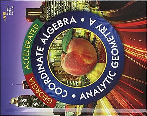 Accelerated Coordinate Algebra/Analytic Geometry A Georgia ...