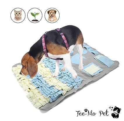 Tee-Moo Perro Snuffle Mat Yummy Playing Blanket Pet Nosework Joy Soogan para entrenar Habilidades