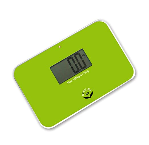 Amazon.com: NewlineNY Lightest Step On Super Mini Travel Bathroom Scale, SBB0638SM-GN Green: Health & Personal Care