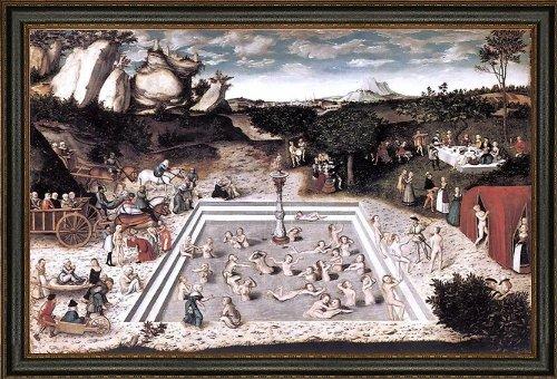 Cranach Fountain (The Elder Lucas Cranach The Fountain of Youth - 16.1