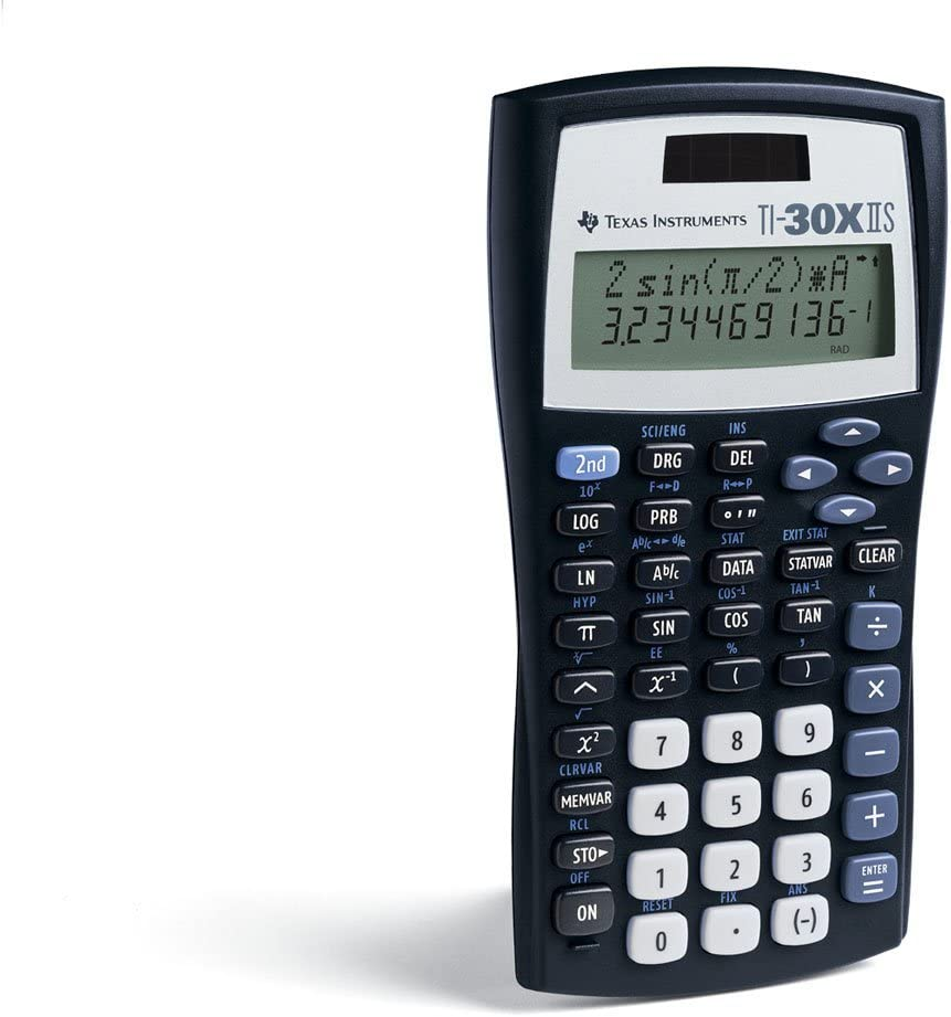 Texas Instruments TI-30X IIS 2 Line Scientific Calculator 12//B1790A