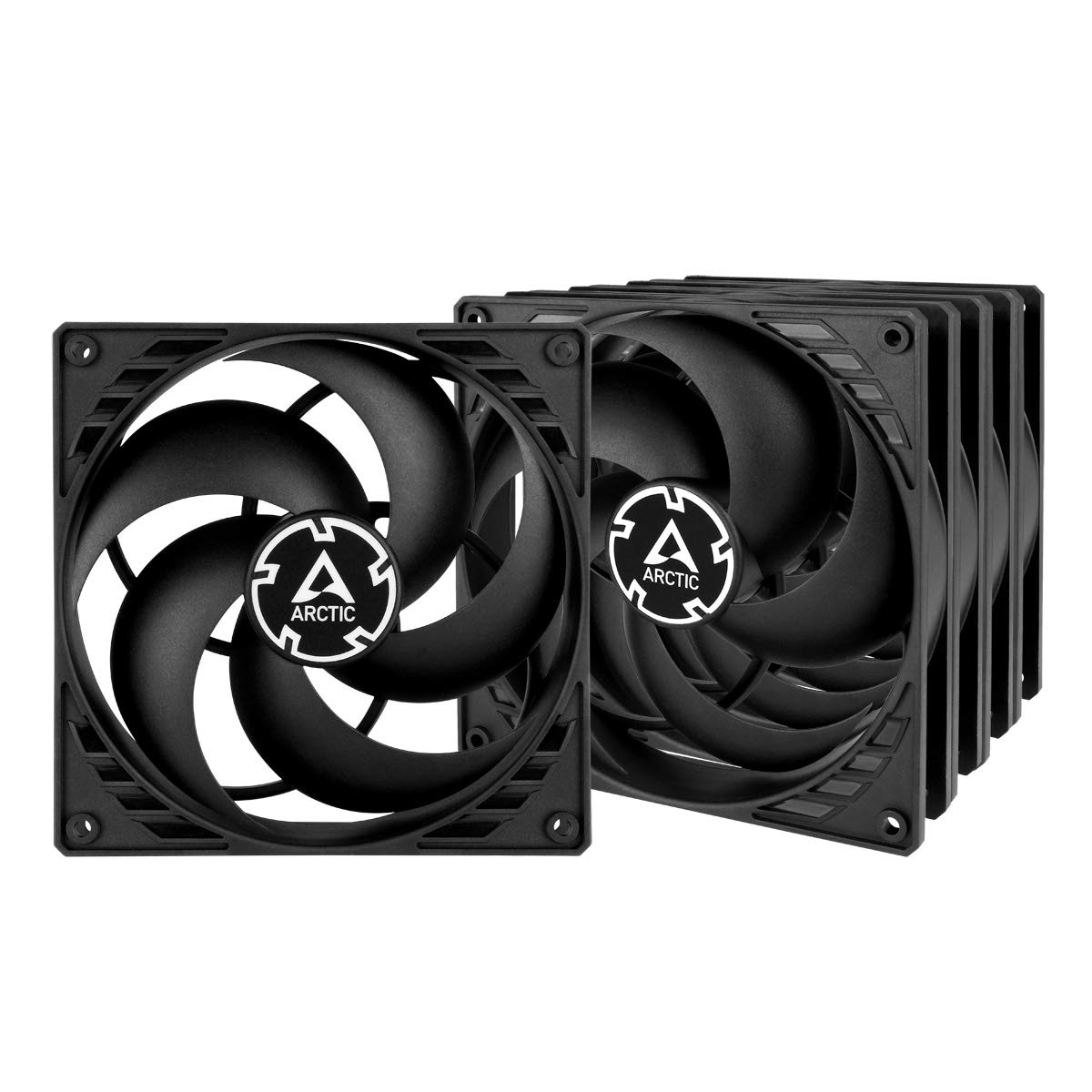 ARCTIC P14 PWM PST Value Pack - Pressure-optimised 140 mm Fan with PWM & PWM Sharing Technology (PST)