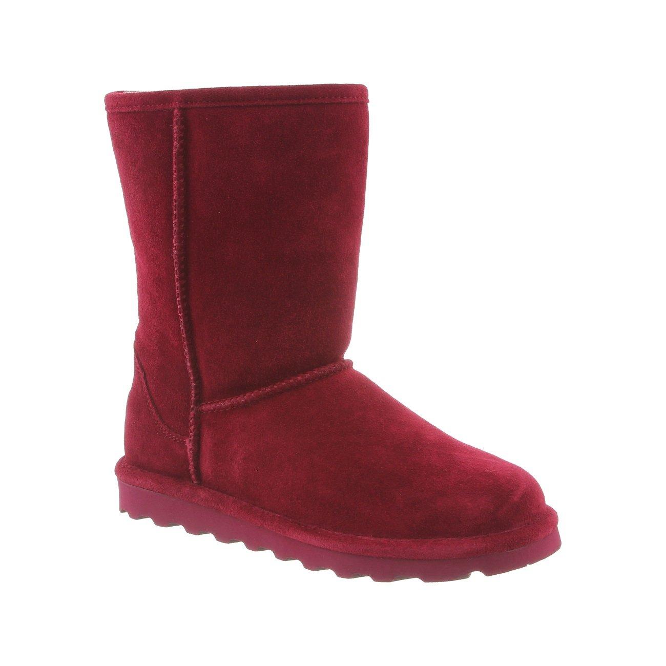 BEARPAW Women's Elle Short Winter Boot B06XRRLGBX 9 B(M) US|Bordeaux