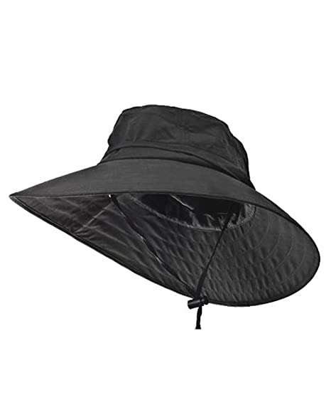 7ae5e6b03dc49 Sun Protection Zone Unisex Lightweight Adjustable Outdoor Booney Hat (100  SPF