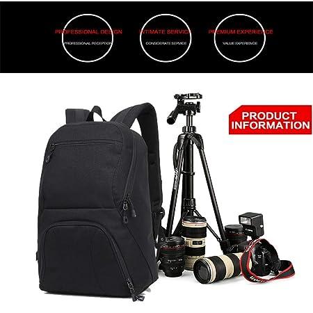 WWGG - Bolsa de Hombro para cámara réflex y portátil, Impermeable ...