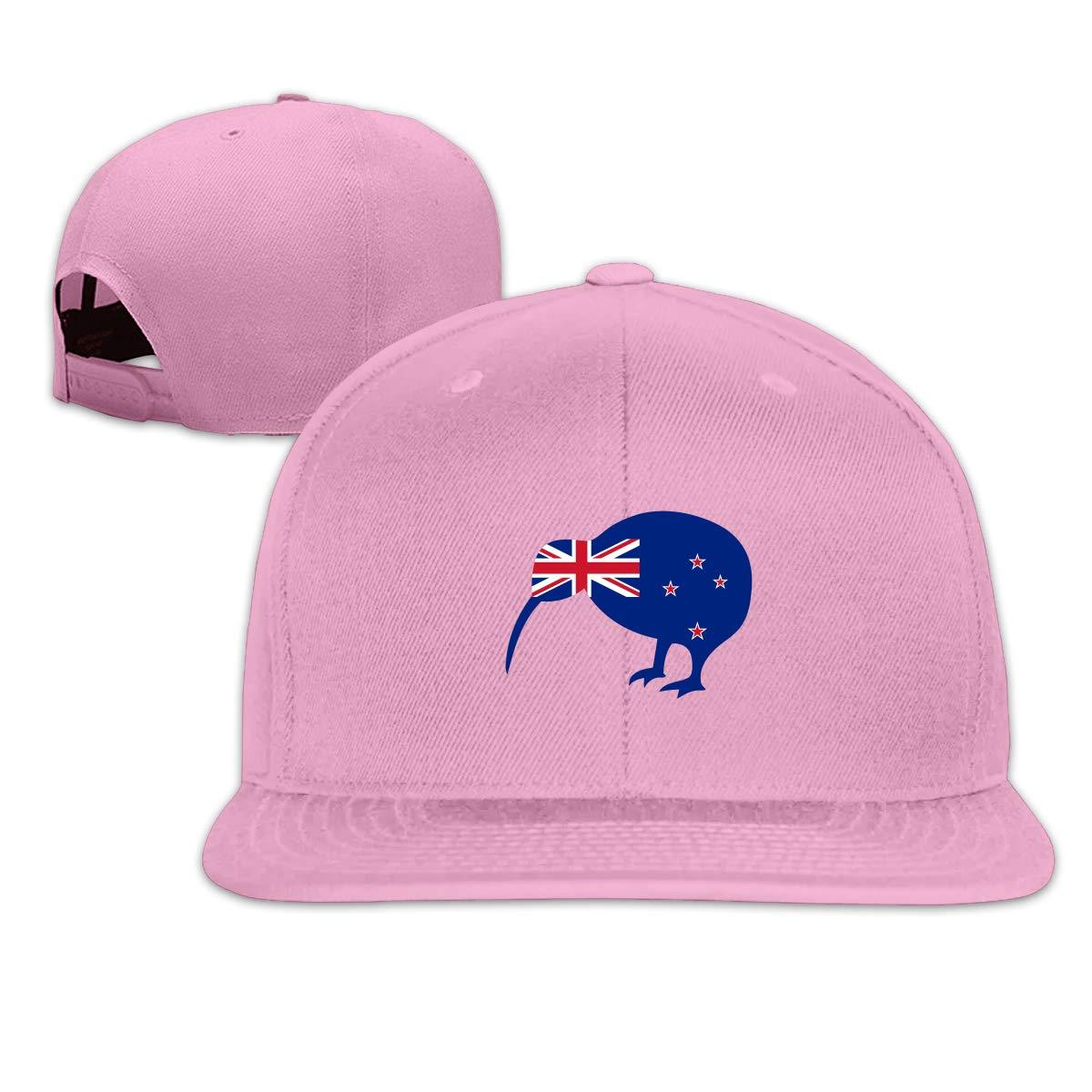 MOCSTONE Unisex Snapback Hat New Zealand Kiwi Bird Adjustable Baseball Cap
