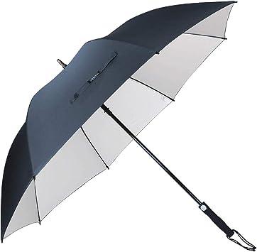 G4Free 62 Inch Sombrilla de Golf Recubrimiento de Plata Sombrilla de Protección Solar Toldo Grande a Prueba de Viento Paraguas Automático a Prueba de Viento para Hombres y Mujeres: Amazon.es: Deportes y