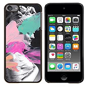 Planetar® ( Estatua de Arte Venus Afrodita pintura Mujer antigua ) Apple iPod Touch 6 6th Touch6 Fundas Cover Cubre Hard Case Cover