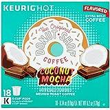 Keurig Hot The Original Donut Shop Coconut Mocha Medium Roast Coffee, 0.34 oz, 18 count