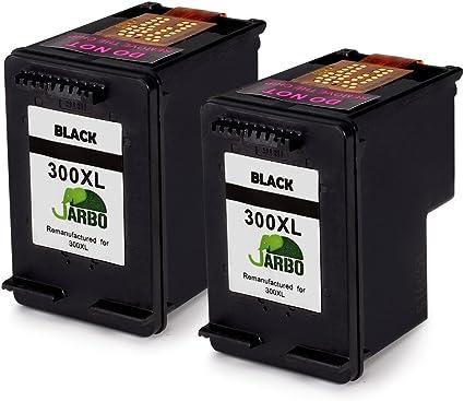 JARBO Remanufacturado HP 300 XL Cartuchos de tinta (2 Negro ...