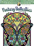 Creative Haven Fantasy Butterflies Coloring Book (Adult Coloring)
