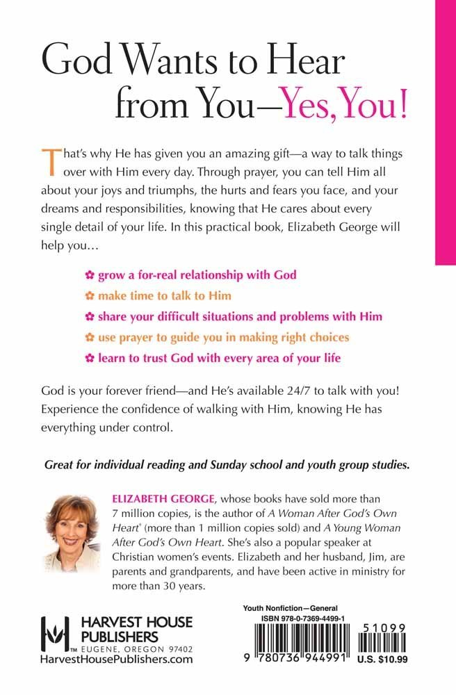 Amazon com: A Young Woman's Guide to Prayer: Talking with