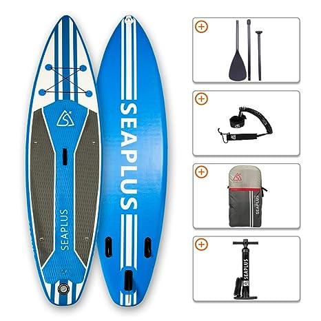 SEAPLUS Tabla de Paddle Surf Hinchable Tabla Stand Up Paddle ...