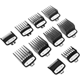 CherryC Professional Comb Set Specially, Clipper Guard Set Attachment Combs Portable Durable Metal for Premium Home