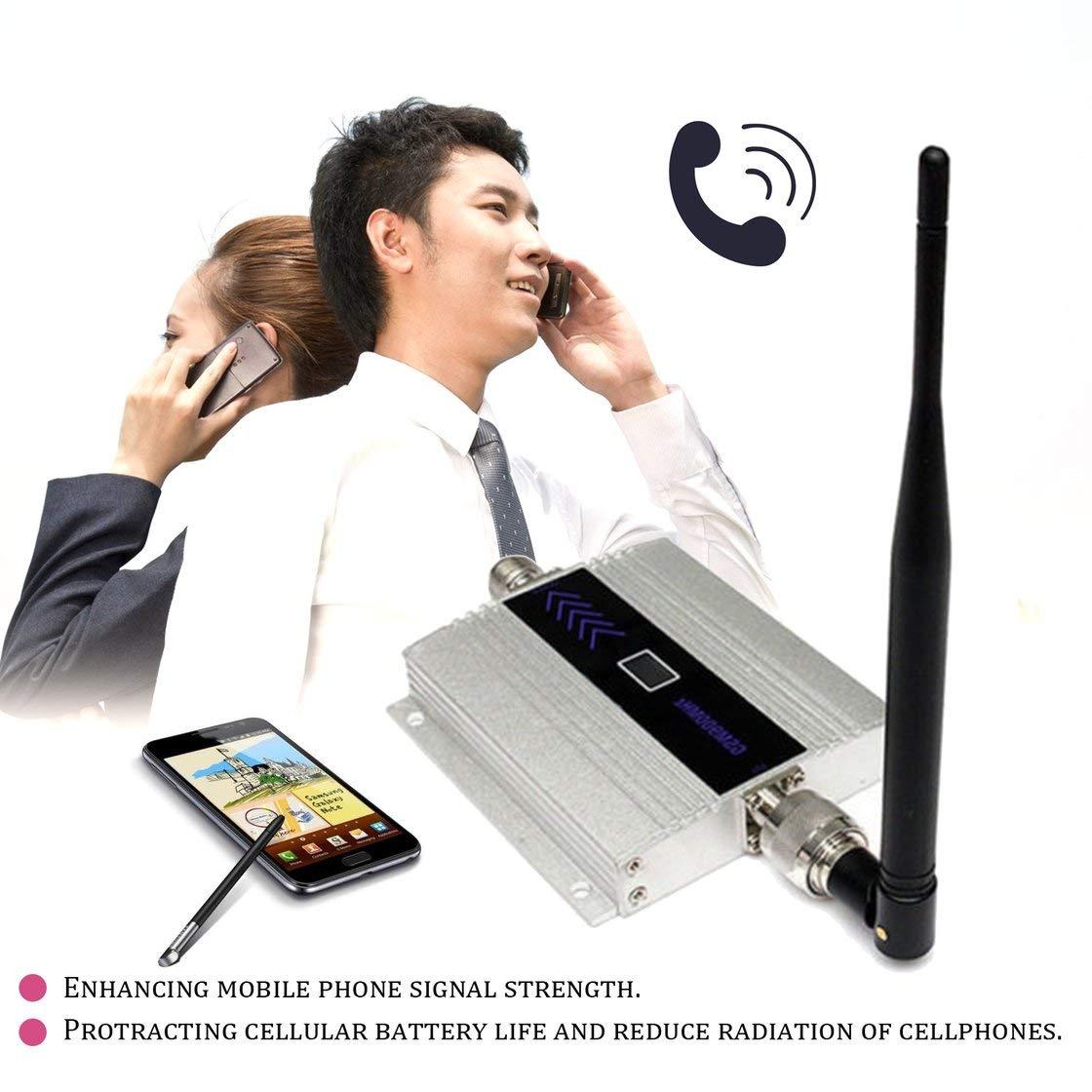 Gwendoll Petit Format Alliage LCD GSM 900 MHz Mobile T/é l/é phone Mobile R/é p/é teur Signal Amplificateur Amplificateur Cellulaire R/é p/é teur Dispositif