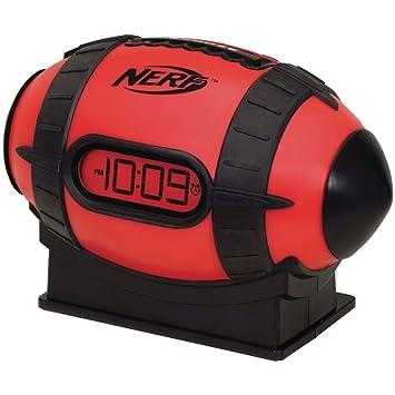 Nerf n105r reloj con alarma en forma de balón de fútbol ...