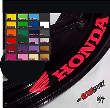 4adhesivos para llantas interiores Honda , adhesivos para llantas interiores motocicleta bicicleta tuning pegatinas