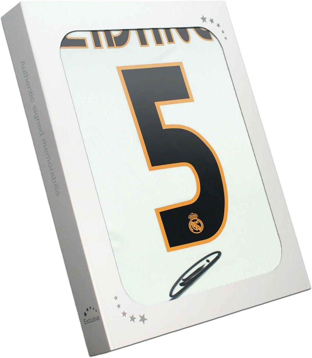 Zinedine Zidane del Real Madrid firmada 2004-05 camiseta de fútbol ...