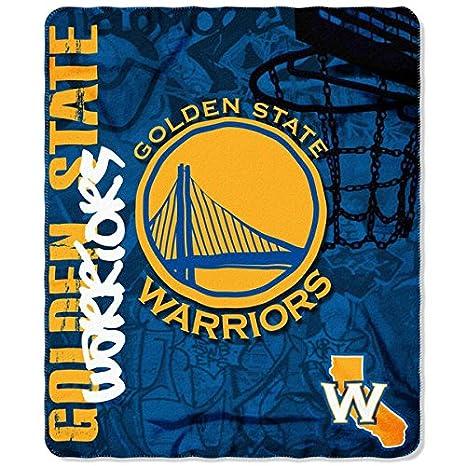 The NorthWest Co Golden State Warriors Manta de Forro Polar ...