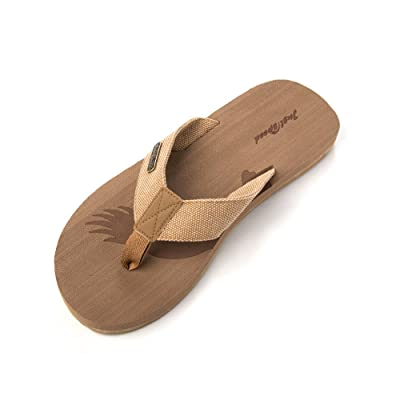 Just Speed Mens Eagle Patriot Flip-Flops Slide on Sandals Classic Cool Casual Dressy Fashion Everyday | Sandals