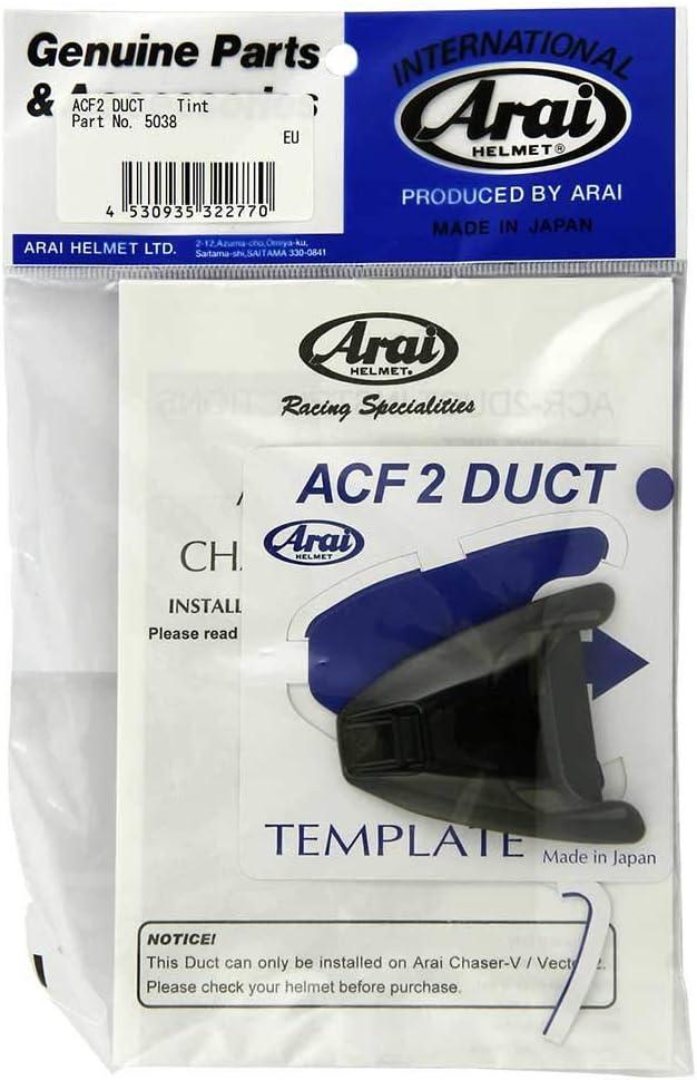 Arai Ventilation sup/érieure Avant air Conductor Front-2 Tint pour Casque Chaser-v//Chaser-v Pro