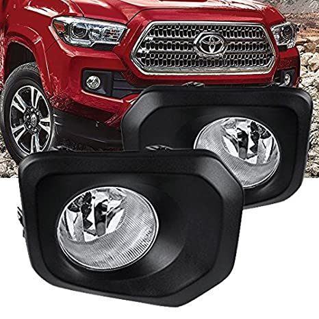 amazon com remarkable power fl7021 2016 2017 toyota tacoma fogamazon com remarkable power fl7021 2016 2017 toyota tacoma fog lights bumper lamps kit w cover switch wiring bulb automotive