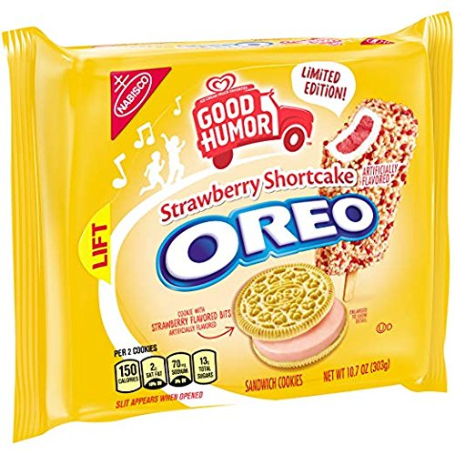 Strawberry Shortcake Oreo Cookies (10.7 Ounces-4 Pack) (LIMITED EDITION)