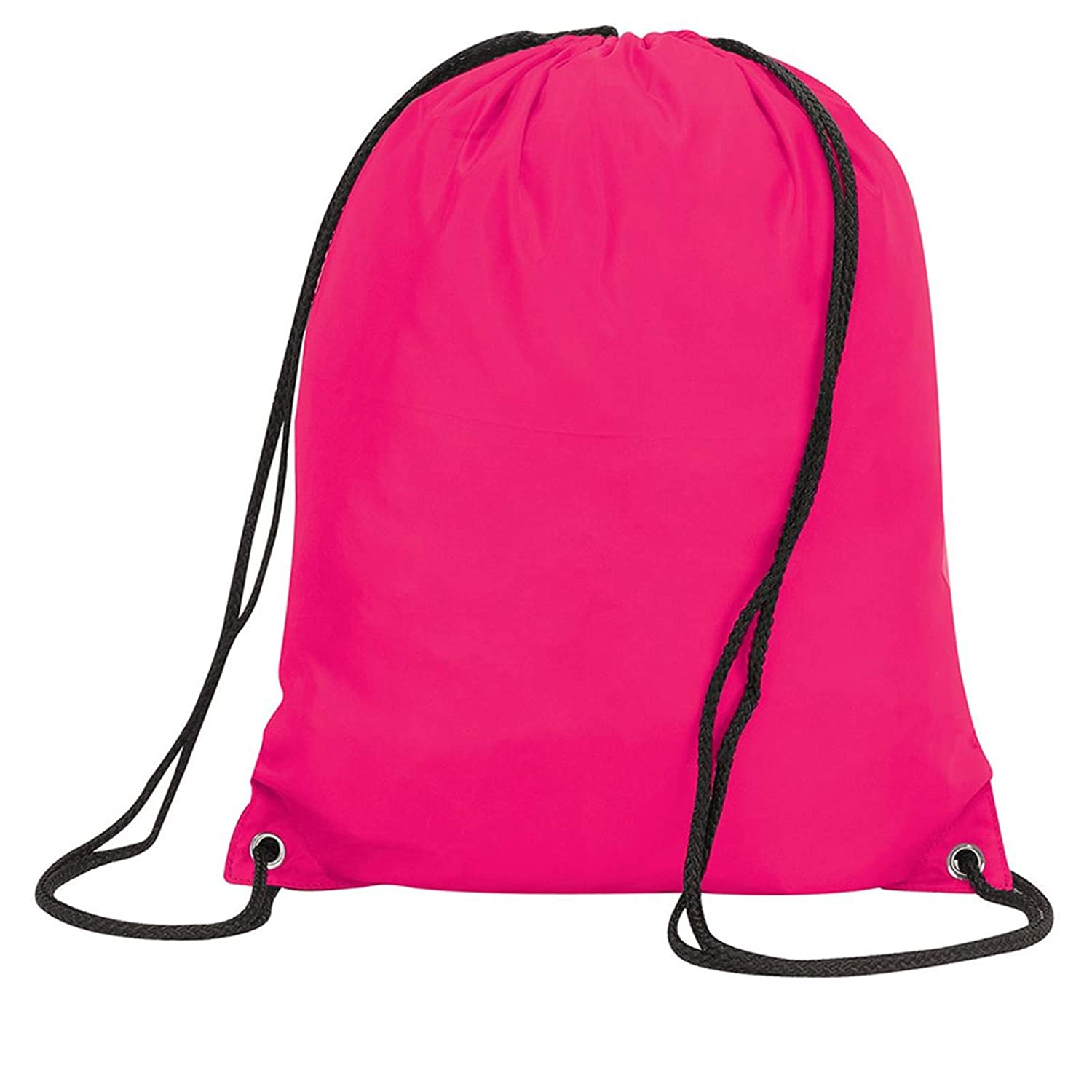 5 Pack of Drawstring School PE Bag Childrens Gym Sack Backpack Tote - 16 Colours PPH