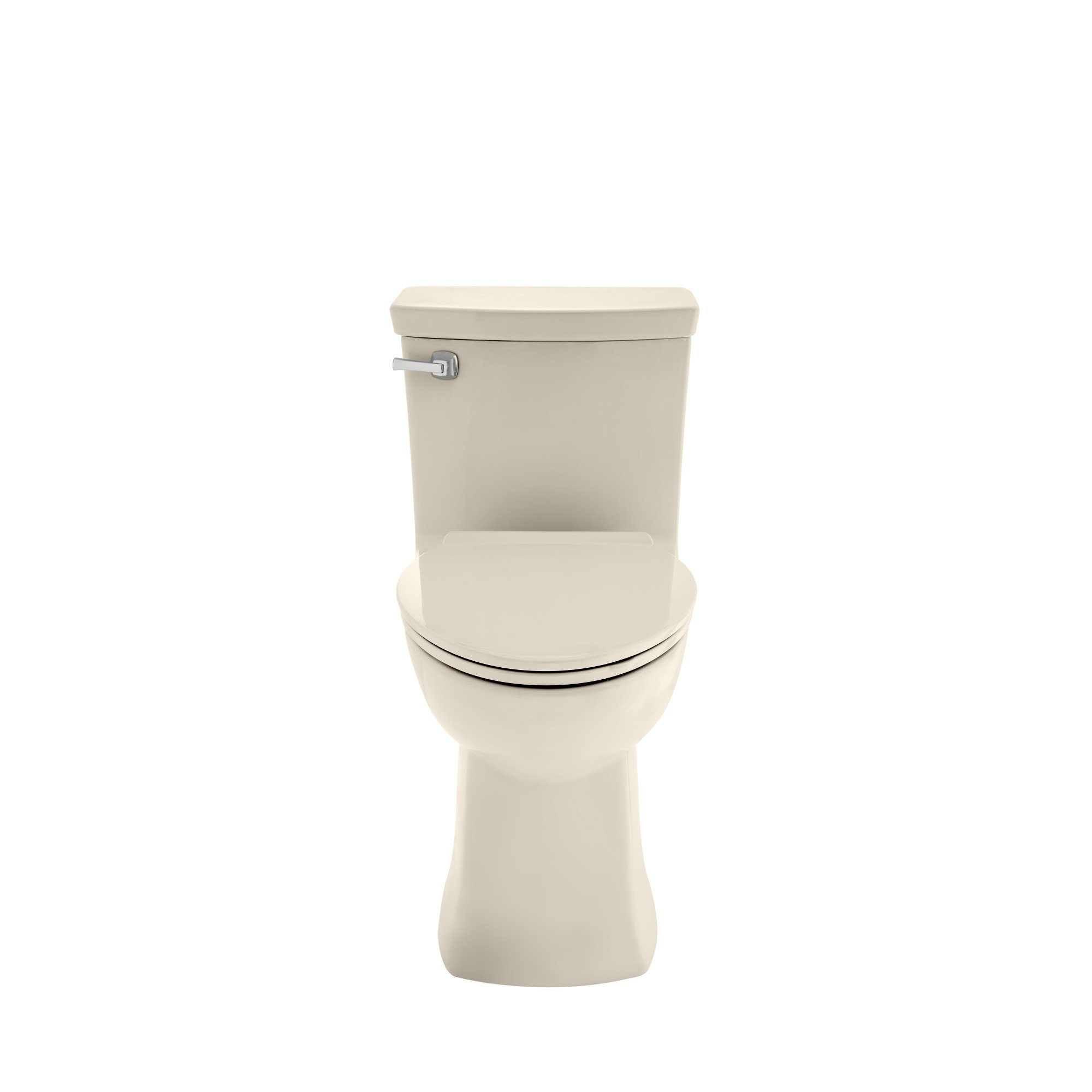 American Standard 2922A104.222 Townsend Vormax Right Height Elongated White One-Piece Toilet with Seat, Linen
