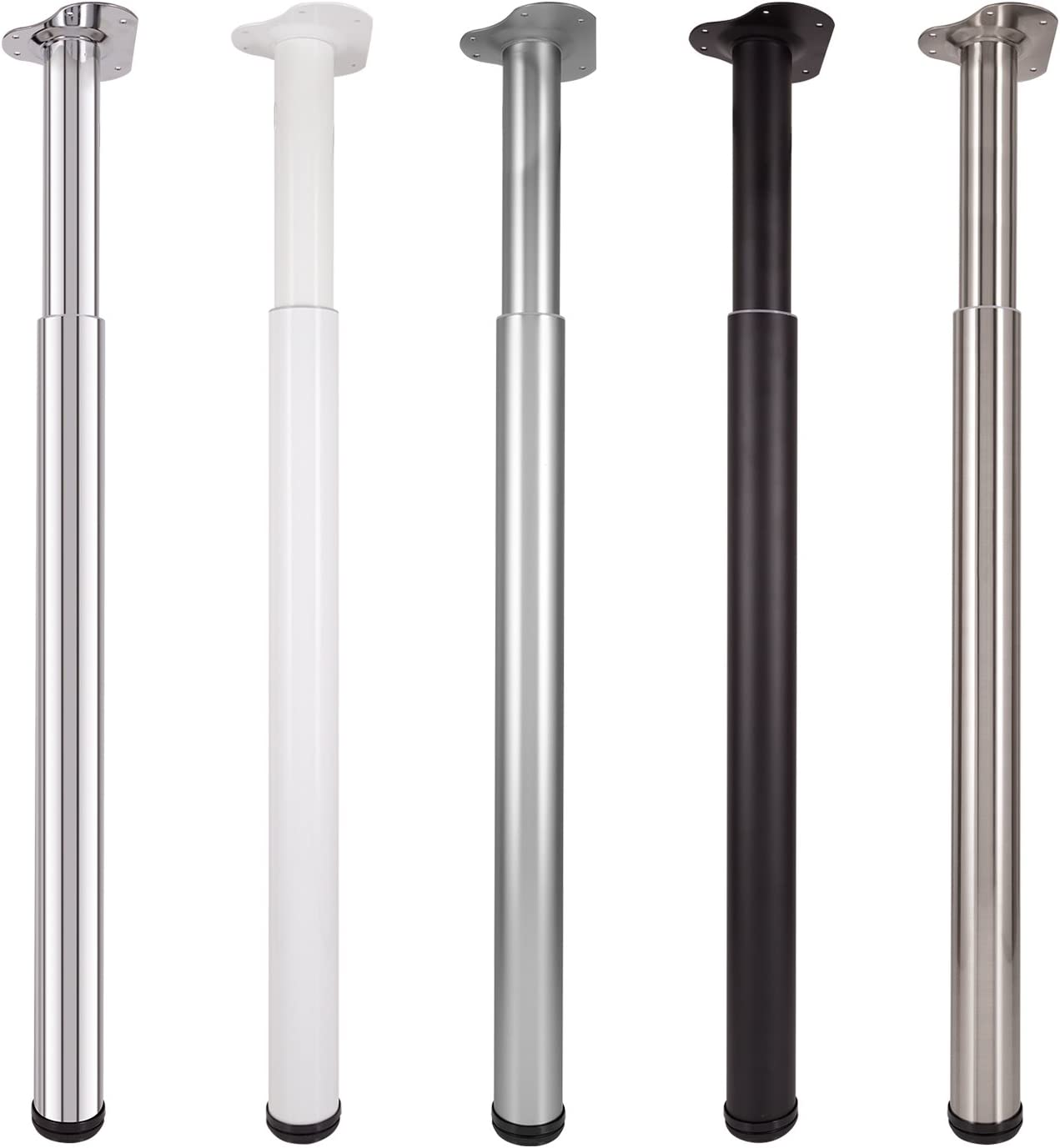 Pied de table Ø 60 mm ronderéglable 2-3 cm /& la plaque de montage dévissée