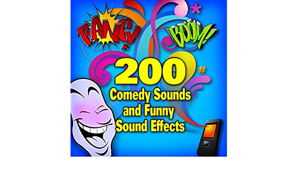 200 Comedy Songs and Funny Sound Effects by Cartoon King on Amazon