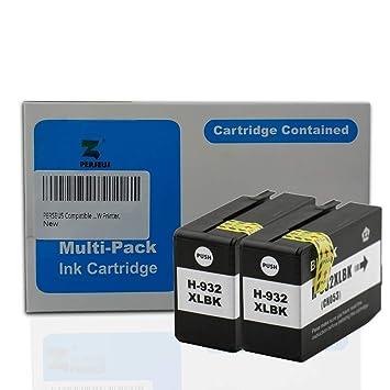 PERSEUS 932XL Compatible para HP 932 Negro Cartuchos de Tinta álta ...