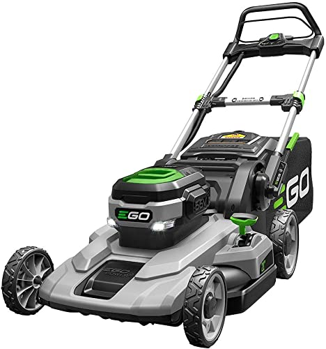 EGO Power LM2100 21-Inch 56-Volt Lithium-ion Cordless Lawn Mower Battery Charger Not Included