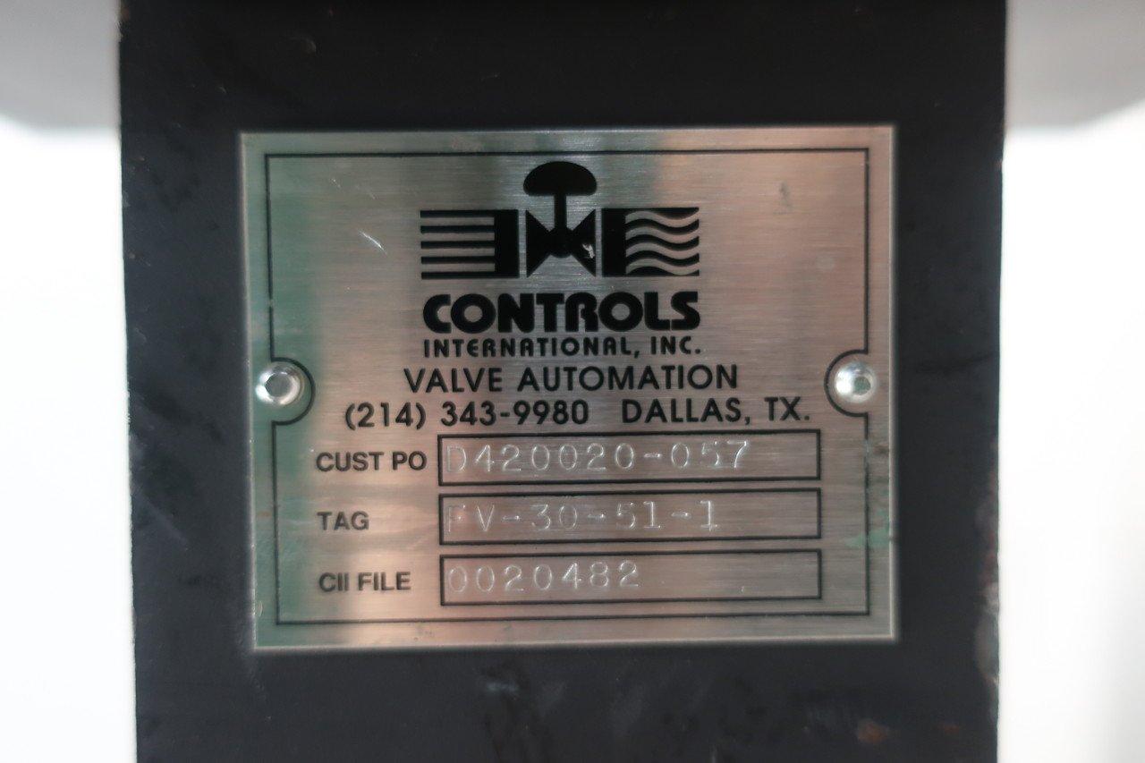 NEOTECHA 080SR1B91GF1A1 Pneumatic Steel Lugged 150 3IN Butterfly Valve D607916
