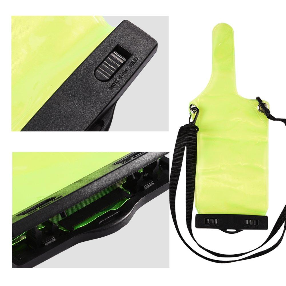 Bolsa de Bolsa Impermeable port/átil para Walkie Talkie UV5R UV82 BF 888S Bolsa de protecci/ón port/átil para Equipo port/átil UVB8 con cord/ón