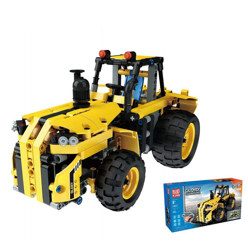 Vehicle AX Kit de Bloques de construcción de Figura de Tractor RC con Radio Control Adecuado para niños Mayores de 5 años