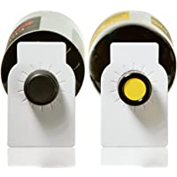 Home Affinity White Paper Wine Bottle Tags - 200 Count Plain Paper Wine Cellar Labels
