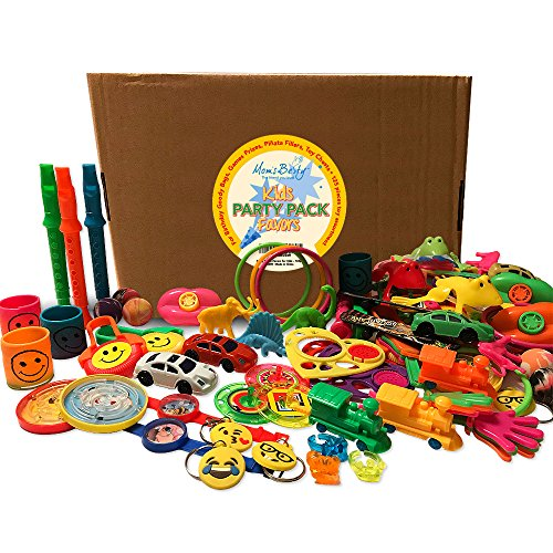 Party Packs Favors for Kids - 125 Pc Toy Assortment for Boys and Girls – Bulk Small Toys for Birthday Goody Bags, Games Prizes, Pinata Fillers, Toy Chests ()