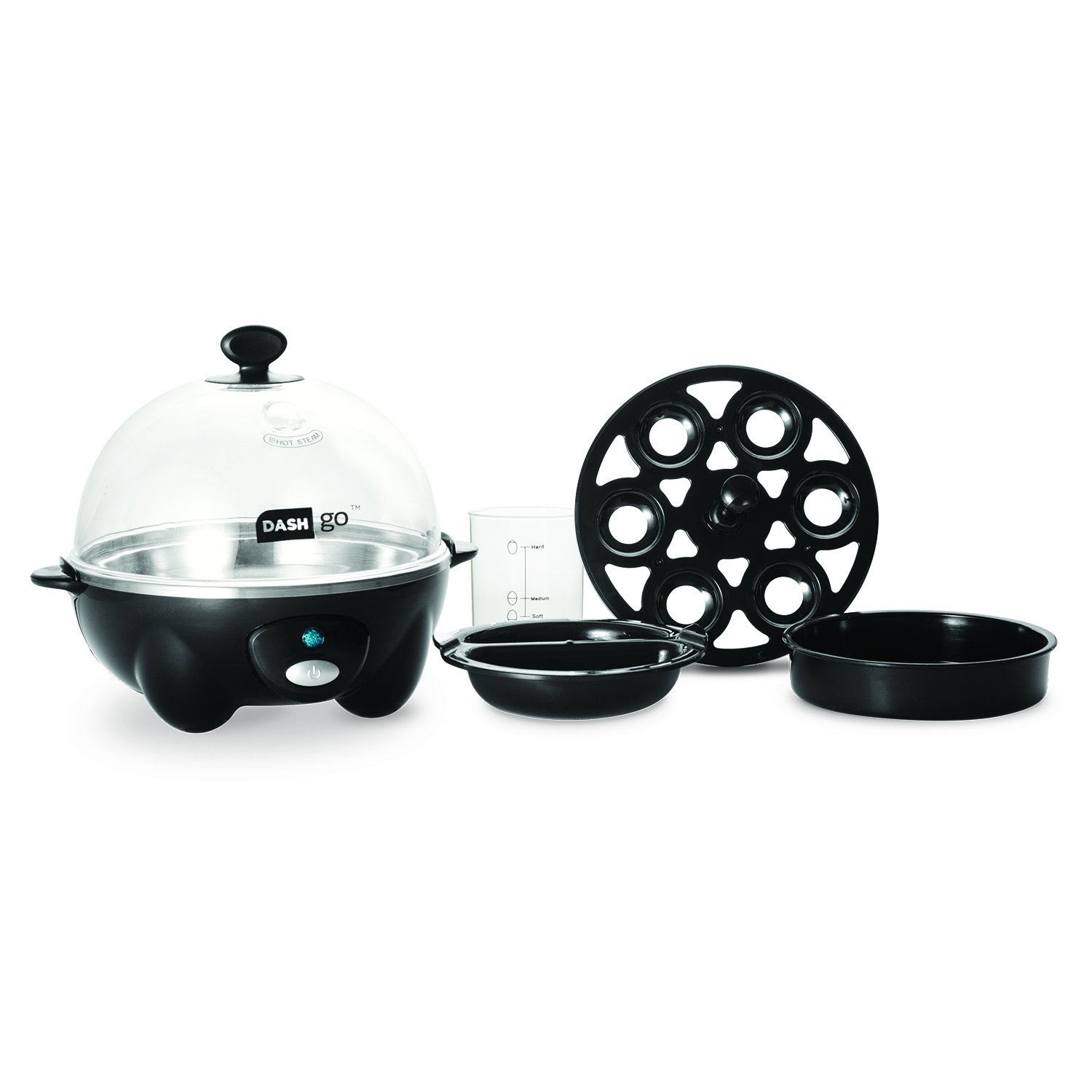 dash rapid egg cooker black electric egg cookers